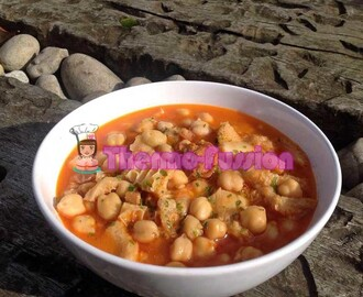 GARBANZOS CON CALLOS FUSSIONCOOK TOUCH ADVANCE