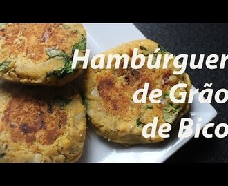 Video – Hamburguer de Grão de Bico