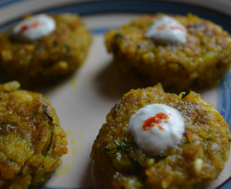 Aloo Poha Tikki |Potato and beaten rice cutlet