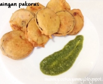 Baingan pakora/ Eggplant pakoras/ How to make Baingan pakore