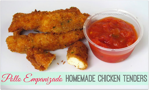 Pollo Empanizado - Homemade Chicken Tenders