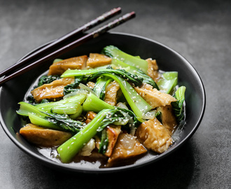 Stir Fried Bok Choy and Tofu