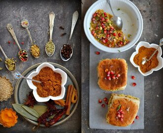 On the Spice Trail: Dabeli {with Homemade Dabeli Masala}