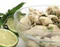Chicken with Lime and Peppermint