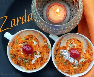 Z - Zarda / Sweet Rice