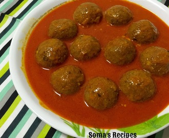 MUTTON KOFTA MALAI CURRY