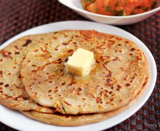 Aloo Paratha Recipe – Indian Evening Snacks Recipe