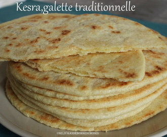 Kesra,galette traditionnelle...