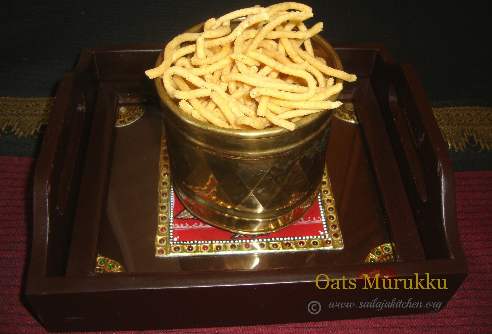 Oats Murukku Recipe / Oats Muruku Recipe / Oats Chakli
