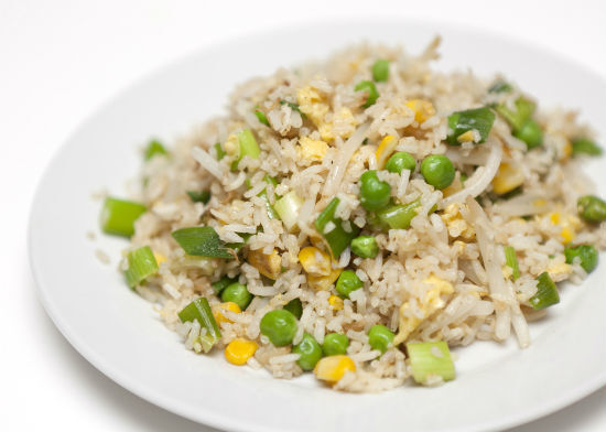 Garlic Egg Fried Rice