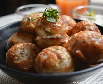 Quick Vegetable Appe Recipe, How to make Vegetable Paddu Recipe