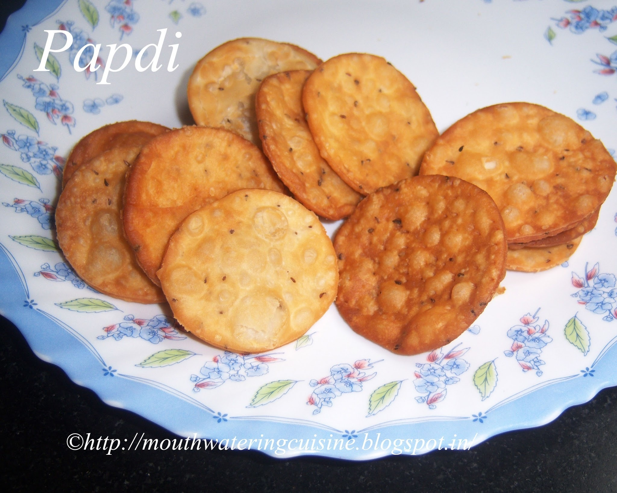 Papdi Recipe -- How to make Fried Papdi Recipe