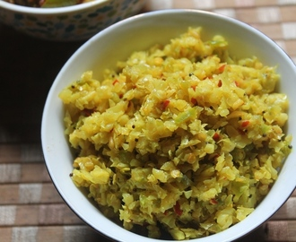 Stir-Fried Cabbage and Capsicum Recipe