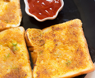 Potato Toast | Aloo Toast | Indian Bread Toast Recipes