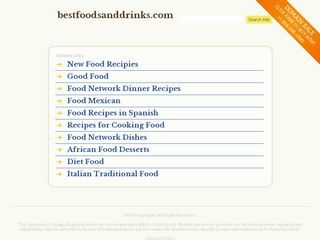 Best foods and drinks