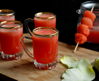 Rose Watermelon Cooler