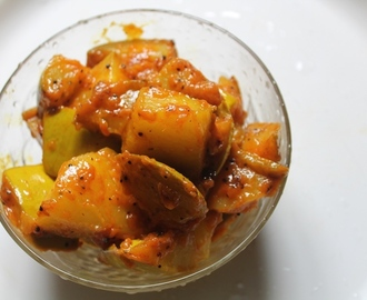 Raw Mango Poriyal Recipe - Manga Poriyal Recipe