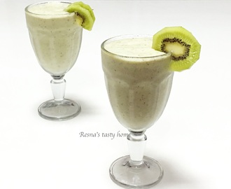 Kiwi apple smoothie