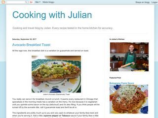 Cooking with Julian