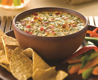 Cheese Spinach & Bacon Dip