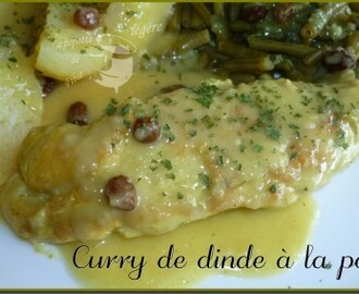Curry de dinde à la pomme (thermomix)