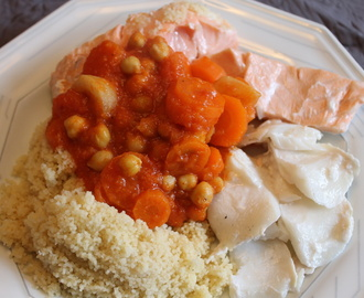 Couscous de poisson. (thermomix)