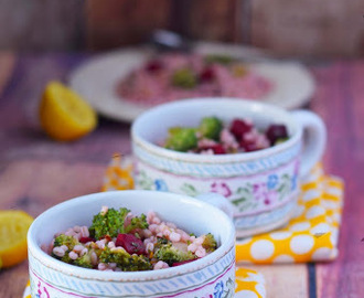 Detox Salad | Beet Barley Broccoli Salad