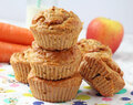 Apple & Carrot Greek Yogurt Muffins