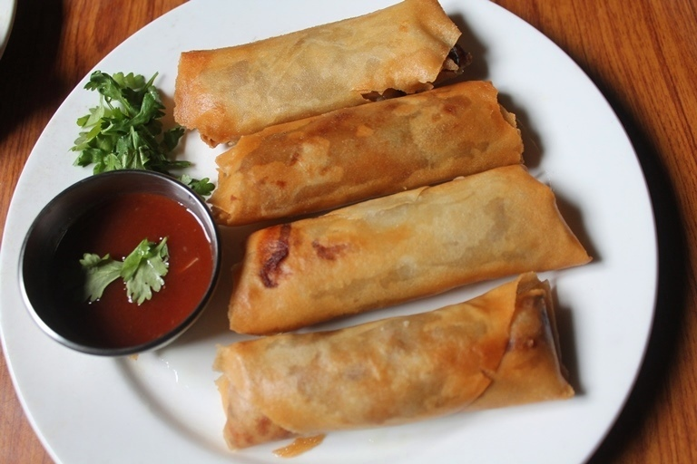 Chicken Spring Rolls Recipe