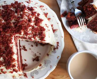 My Gloriously Gluten Free Red Velvet Cake Recipe (dairy free and low FODMAP)