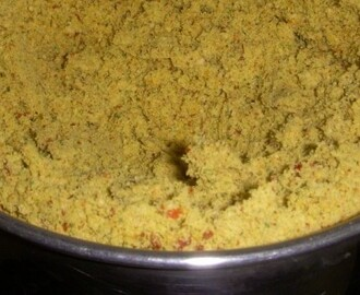 Ellu Curry Leaves Podi