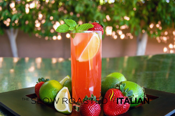 Tantalizing Strawberry Mojito