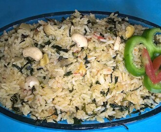 Methi Rice ( Fenugreek Rice )