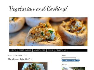 Vegetarian and Cooking!