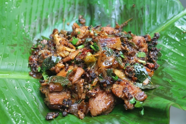 Pepper Mutton Roast Recipe - Pepper Mutton Dry Recipe