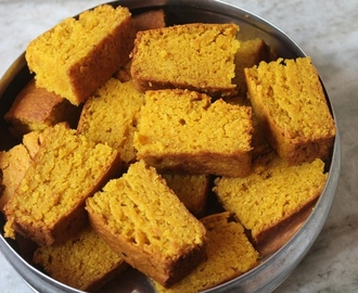 Eggless Fresh Mango Cake Recipe - Eggless Whole Wheat Mango Cake Recipe