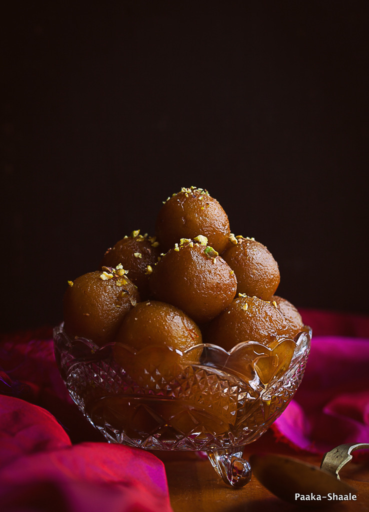Sweet potato and almond Gulab Jamun- The vegan Gulab jamun