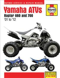 Haynes Yamaha Raptor 660 & 700 ATVs Service & Repair Manual
