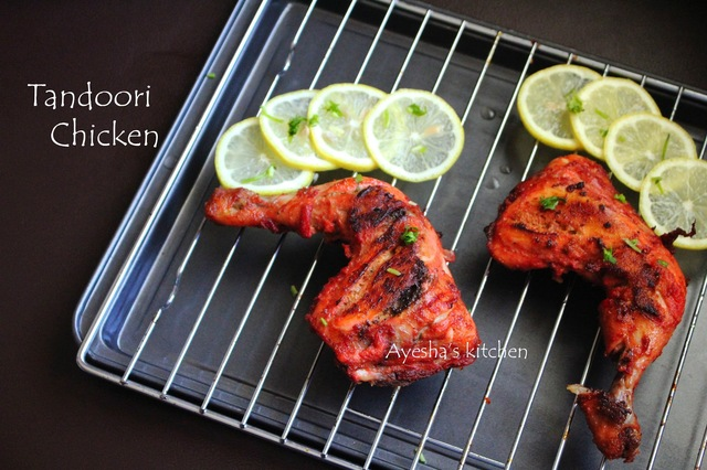 TANDOORI CHICKEN RECIPE - HOW TO MAKE PERFECT TANDOORI CHICKEN AT HOME