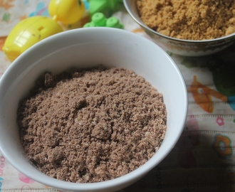 Instant Ragi Ceralac Recipe - No Cook Finger Millet Cereal For Babies