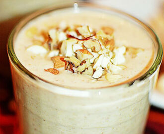 """Dry Fruit Milkshake Recipe..."""