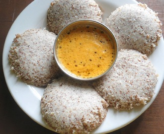 Ragi / Finger Millet Idli | Healthy Breakfast