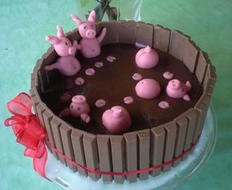 Recettes De Cochon En Chocolat Et Pate D Amande Mytaste