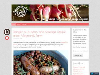 Shropshire Food Blog