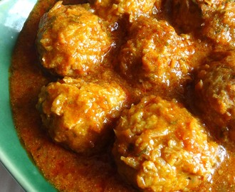 Tur Dal Kofta Curry