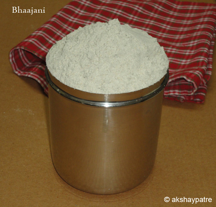 Multigrain flour for thalipeeth, bhaajani, atta for thalipeeth
