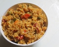 Masala Vegetable Khichdi Using Leonardo Olive Oil