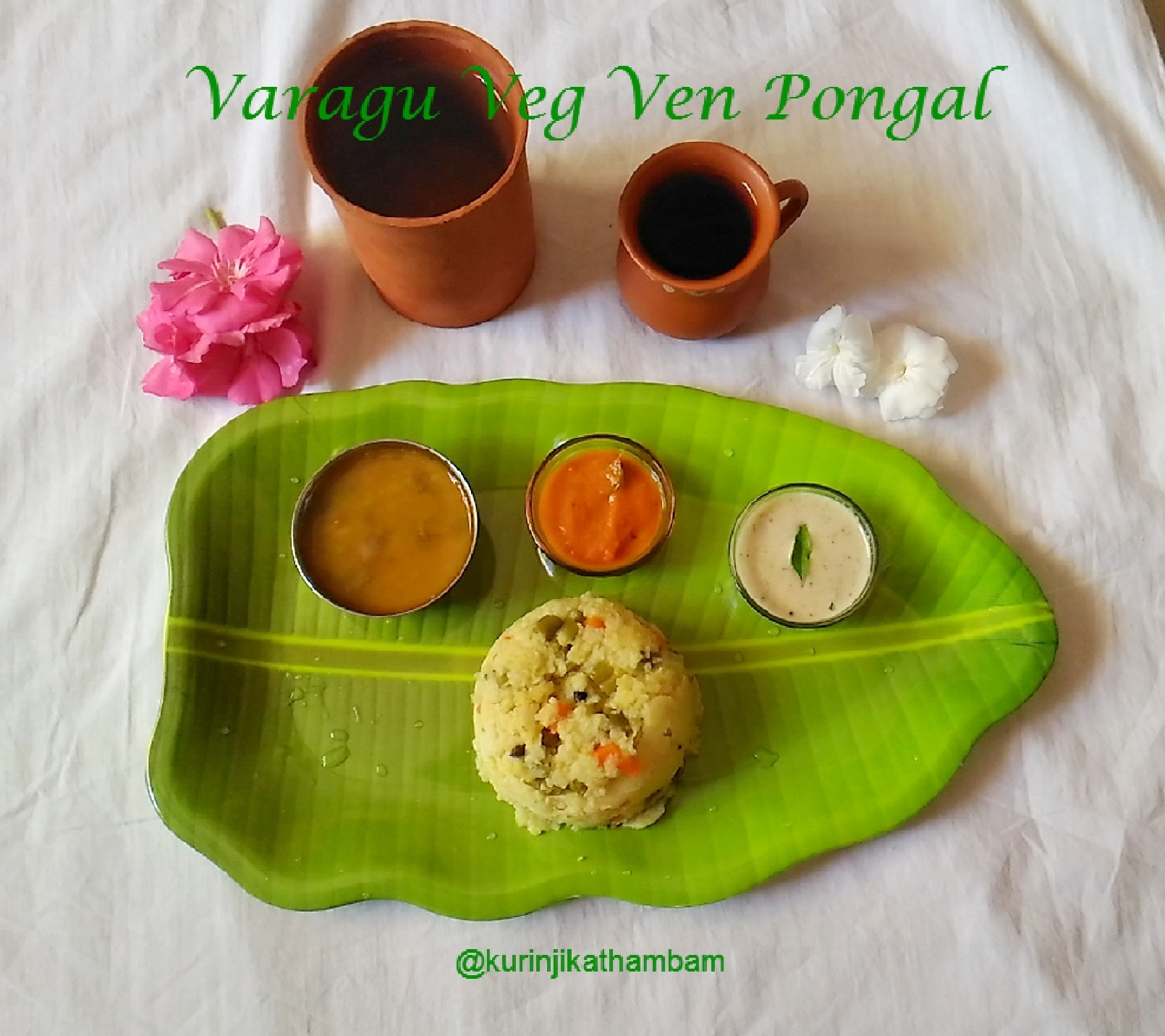 Varagu (Kodo Millet) Vegetable Venpongal | Kodo Millet Recipes