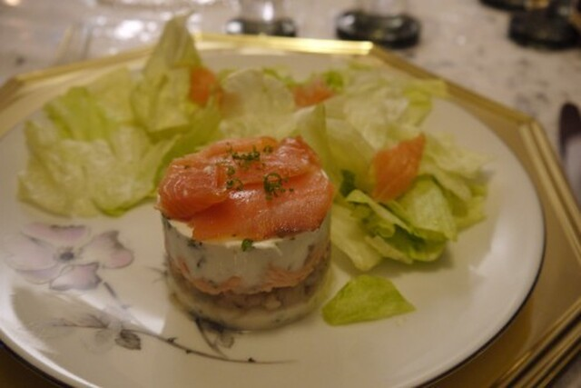 Terrine de poissons à l'estragon