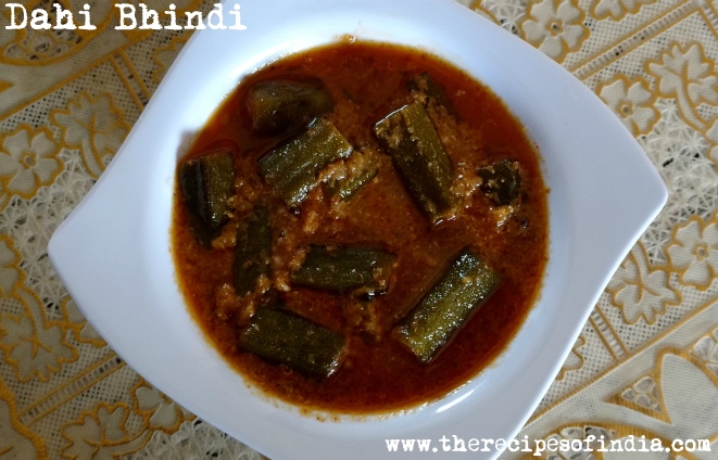 Dahi Bhindi Recipe | How to Make Okra in Yoghurt Gravy